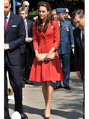Kate Middleton Canada Dresses