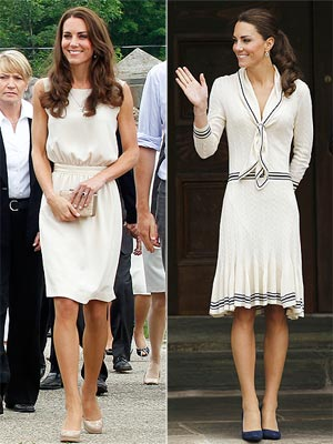 Kate's Canada Looks: Cream of the Crop | Kate Middleton, Prince William