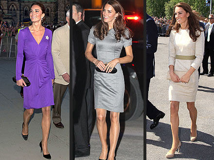 Kate Middleton in Sheer Pantyhose