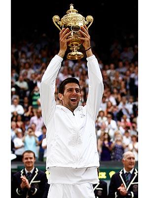 What's Wimbledon Champion Novak Djokovic's Tennis Tip?