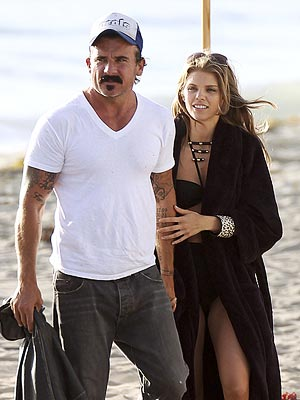 AnnaLynne McCord & Dominic Purcell's Cozy Beach Day | AnnaLynne McCord, Dominic Purcell