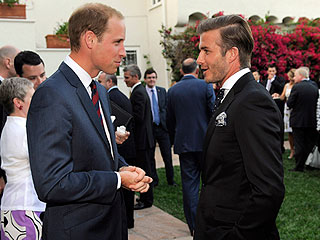 David Beckham Gets Royal Access to Prince William | David Beckham, Prince William