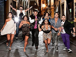 FIRST LOOK: Jersey Shore's Official Italian Portr