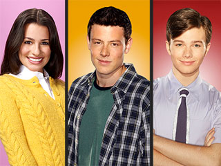 Chris Colfer, Lea Michele and Cory Monteith Not Leaving Glee After Graduation | Chris Colfer, Cory Monteith, Lea Michele