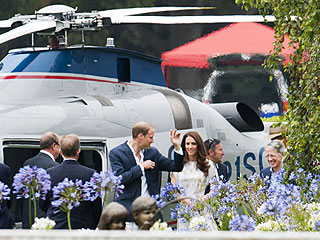 Inside William & Kate's Helicopter Rides Over California | Kate Middleton, Prince William