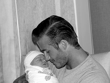 david beckham 440 Harper Seven Beckham: The First Photos
