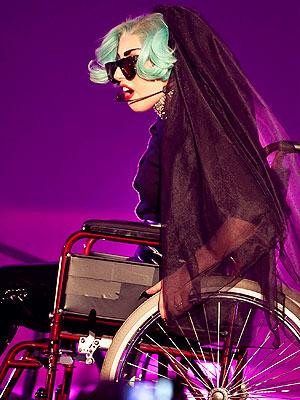 Bette Midler Tweets About Lady Gaga Wheelchair Mermaid