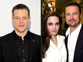 matt damon 320 Matt Damon: Brad Pitt & Angelina Jolie Are Like Prisoners
