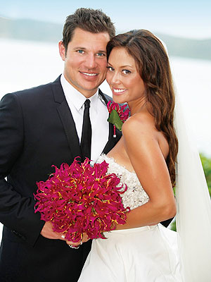 Nick Lachey Describes 'Fantasy' Moment He Saw Bride Vanessa Minnillo | Nick Lachey, Vanessa Minnillo