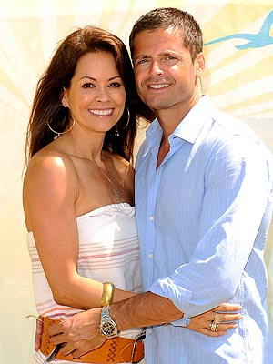brooke burke 300 Brooke Burke and David Charvet Wed