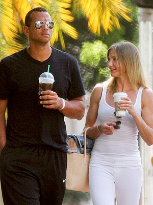 Celeb Sightings: Cameron Diaz, Jessica Simpson, Alex Rodriguez
