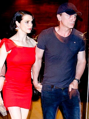 daniel craig 300 Rachel Weisz and Daniel Craigs Newlywed Night Out
