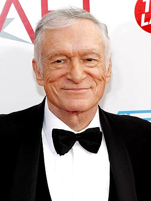 Hugh Hefner Finally Files for Divorce