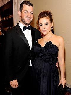 Alyssa Milano Welcomes a Son | Alyssa Milano