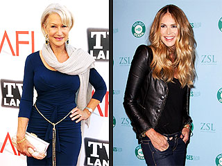 Helen Mirren Named 'Body of the Year' | Elle Macpherson, Helen Mirren