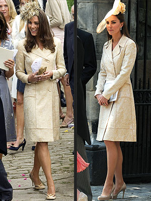 Kate Middleton Shops Her Closet For Zara Phillips's Wedding