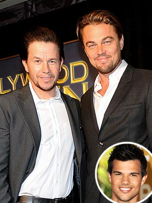 QUOTED: Mark Wahlberg Finds Taylor Lautner's Hotness Threatening | Leonardo DiCaprio, Mark Wahlberg, Taylor Lautner