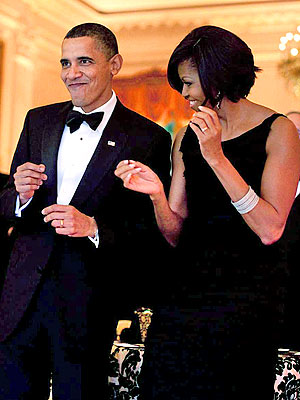Barack Obama's 50th Birthday Dance Party