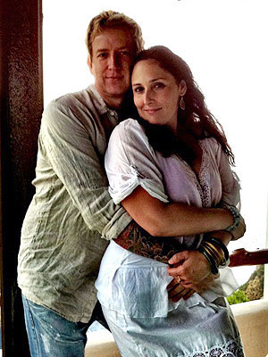 Ricki Lake and christian evans