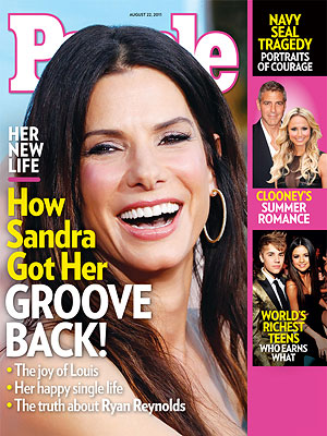 Sandra Bullock: PEOPLE Magazine Cover Story