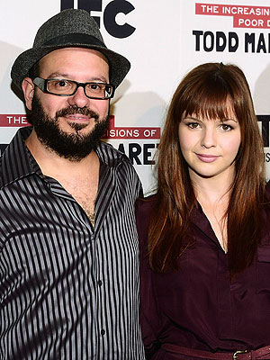 Amber Tamblyn & David Cross Tie the Knot | Amber Tamblyn, David Cross