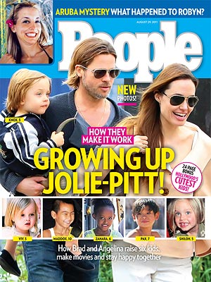 Brad Pitt & Angelina Jolie: Inside Their Family | Angelina Jolie, Brad Pitt