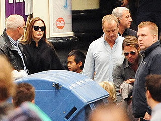 Brad Pitt Hires Private Train for Family and 350 Crew| Angelina Jolie, Brad Pitt, Maddox Jolie-Pitt, Pax Thien Jolie-Pitt, Shiloh Jolie-Pitt, Zahara Jolie-Pitt