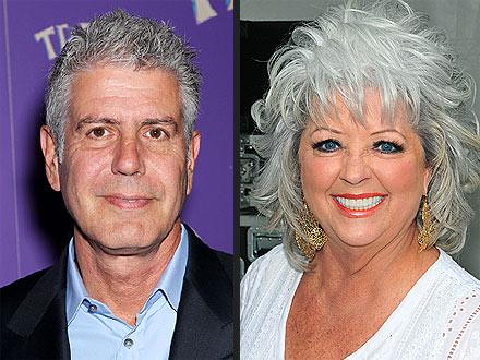 Anthony Bourdain, Paula Deen: Food Fight