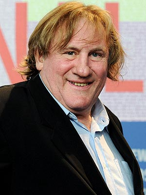 Gerard Depardieu Pees in Plane Aisle on Air France