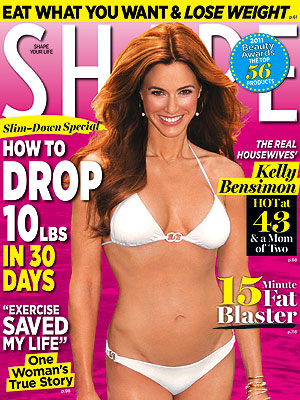 Kelly Bensimon, Shape Magazine, Real Housewives of New York City