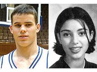 kris humphies 2 320 Kim Kardashian &amp; Kris Humphriess High School Yearbook Shots