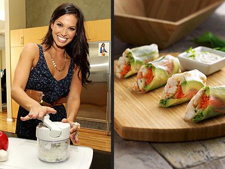Melissa Rycroft's Spring Rolls Recipe | Melissa Rycroft