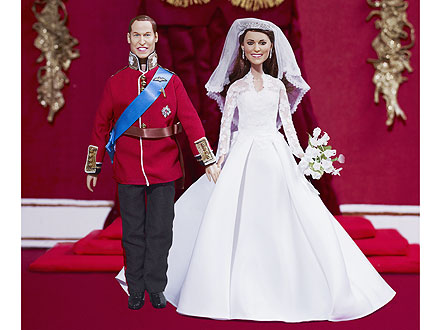 William, Kate Figurines on Sale