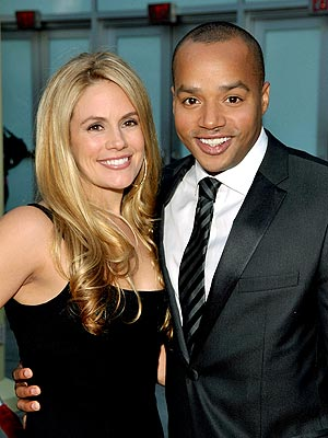 Donald Faison Marries Cacee Cobb