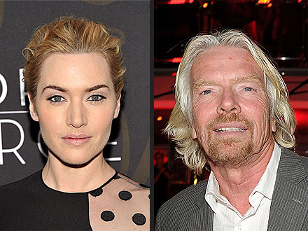 Kate Winslet a Lifesaver, Says Richard Branson