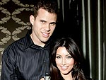 Kim Kardashian & Kris Humphries's Sweet Dinner | Kim Kardashian, Kris Humphries