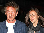 Sean Penn Takes His Girlfriend out for Burgers | Sean Penn