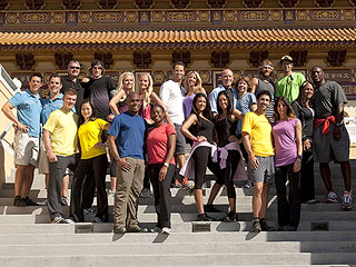 Survivor Winners Compete on The Amazing Race