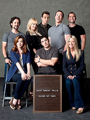 First Look at American Pie Reunion Movie| American Pie, Alyson Hannigan, Jason Biggs, Mena Suvari, Seann William Scott