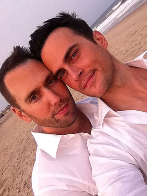 Cheyenne Jackson Gets Married