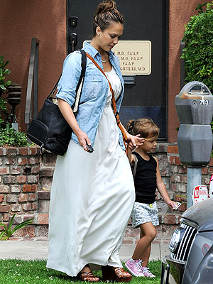 Jessica Alba Baby: First Photo Since Delivering Haven
