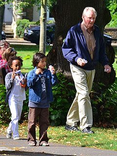 PHOTO: Jolie-Pitt Kids Spend Afternoon with Grandpa | Jon Voight