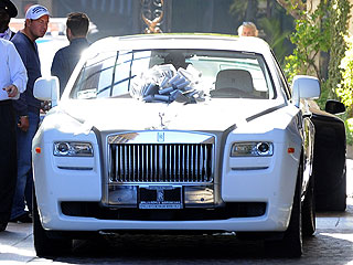 Petra Ecclestone's Post-Wedding Gift: a Rolls Royce| Weddings