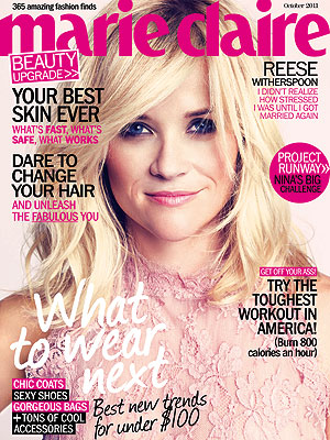 Reese Witherspoon: I'm Relieved to Be Remarried| Reese Witherspoon