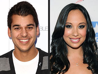 Cheryl Burke & Rob Kardashian Hit the Clubs Together