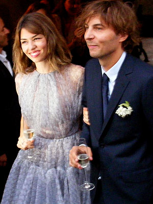 Sofia Coppola & Thomas Mars Wed
