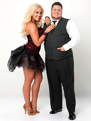 See Chaz Bono's Dancing with the Stars Portrait | Chaz Bono, Lacey Schwimmer