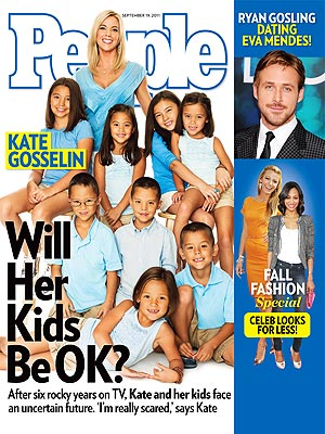 Kate Gosselin Cover of PEOPLE Magazine