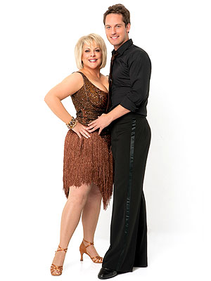 Nancy Grace Introduces Dancing with the Stars Partner Tristan MacManus | Nancy Grace