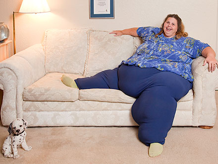 pauline potter 440 Pauline Potter Is Worlds Heaviest Living Woman